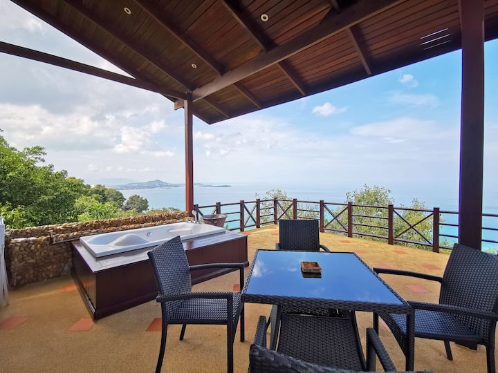 One Bedroom Sea-View Home Ko Samui