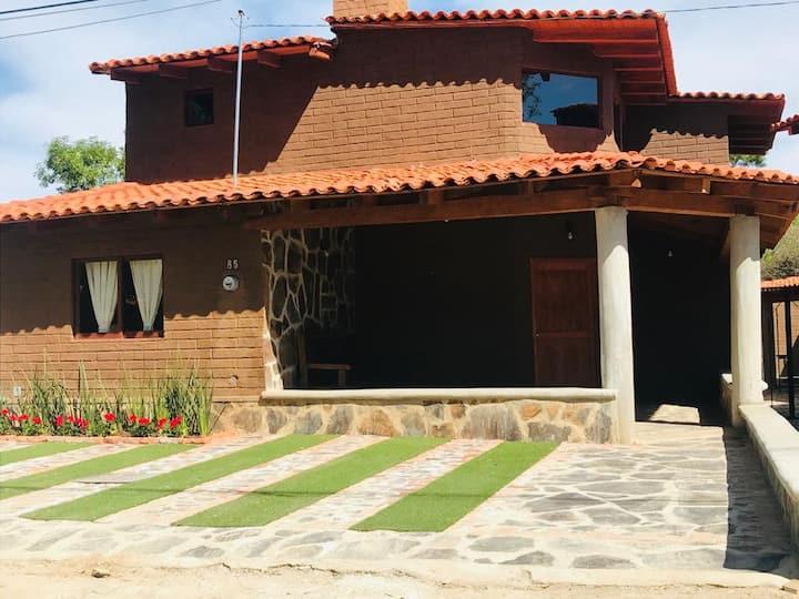 "Cabaña ""San Carlos"" en Tapalpa,Jalisco"