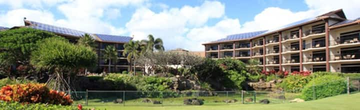 Lawai Beach, Kauai, 2 bedroom  Condo