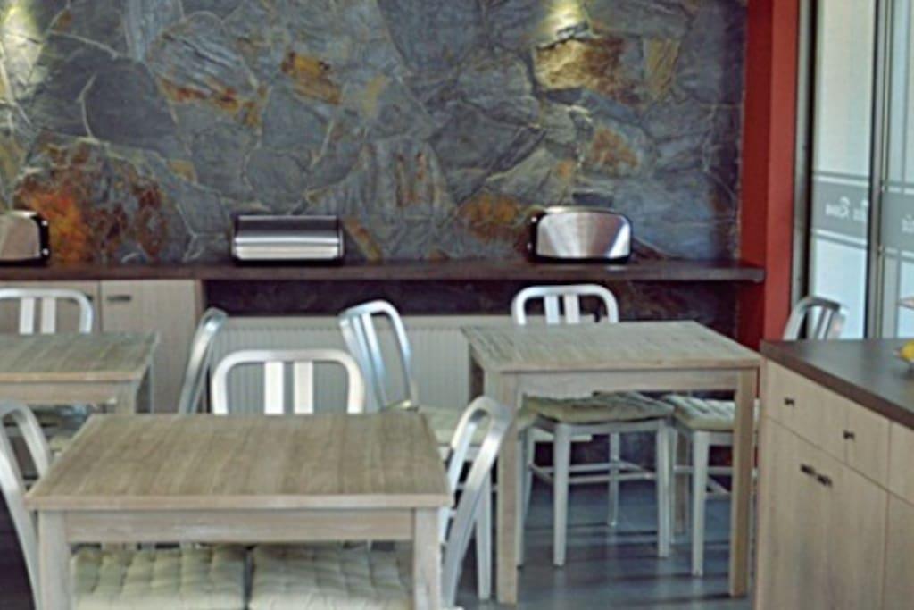 Cafetería Hotel Stella