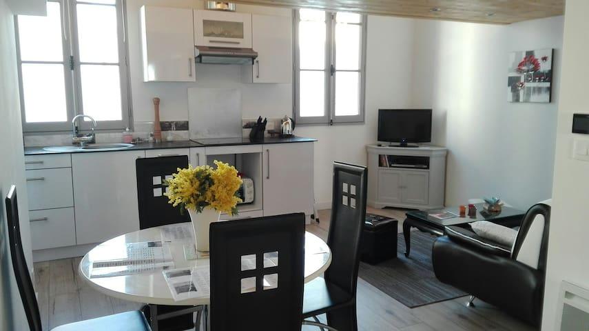 Appartement neuf au coeur  du port - L'Île-d'Yeu - Apartemen