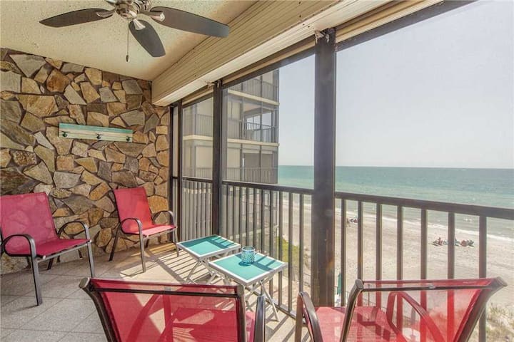 Direct Beach Front 2b 2b On Quiet Stretch of Madeira Beach - 30 day rental - 303 Shores of Madeira - #303 Shores of Madeira