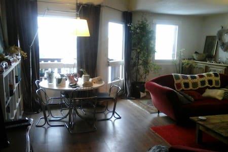 Duplex familial 125 m2 face au mont blanc - Sallanches - Appartement
