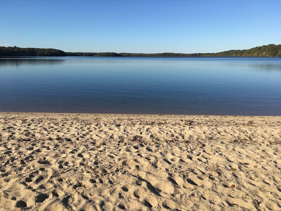Mashpee Pond - 2 miles away