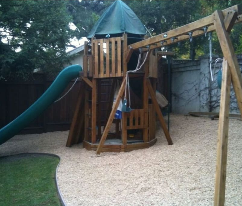 Fun Backyard Playstructure