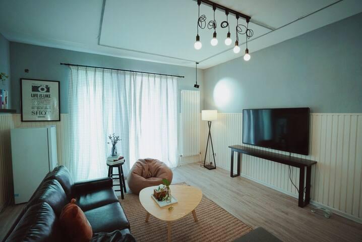 TL民宿.鼎立威廉古堡一居室公寓近景区新河大星光天地