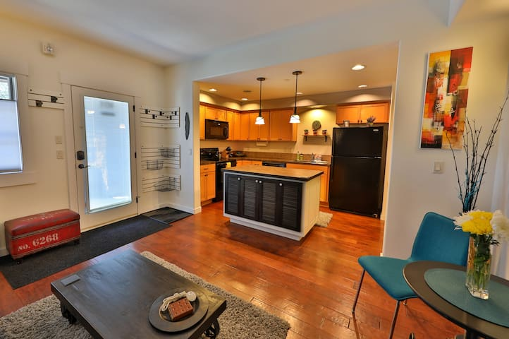 The main living area has an open, inviting floor plan.
