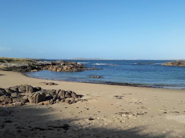Beach by Ballymanus Mine Disaster