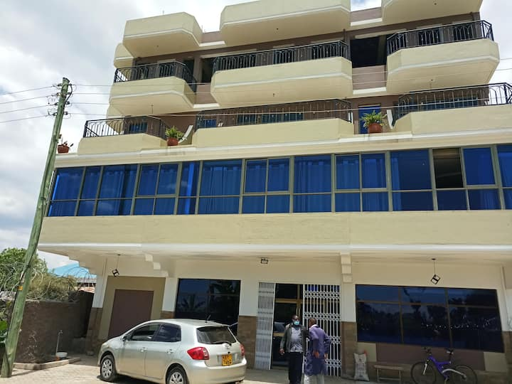 It is a new crown in Nanyuki ,located few metres a