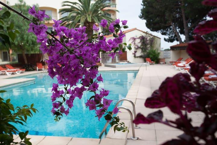 Appartement 2 pièces - piscine
