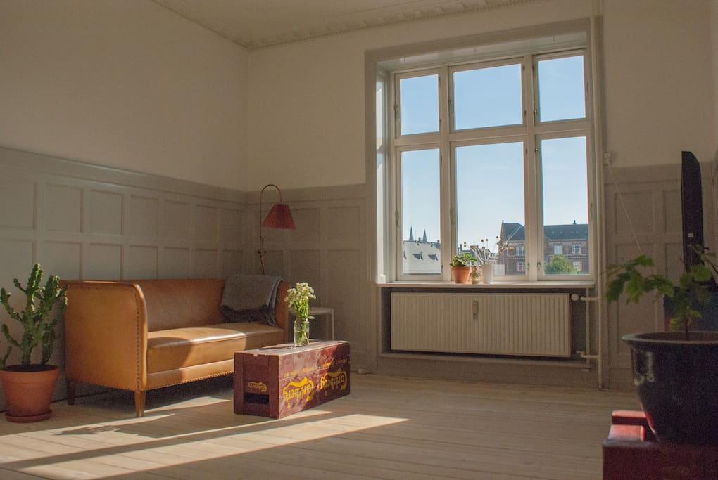 Lys stue / living room