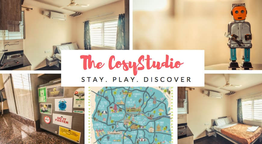 COSY STUDIO NEAR CHRIST COLLEGE