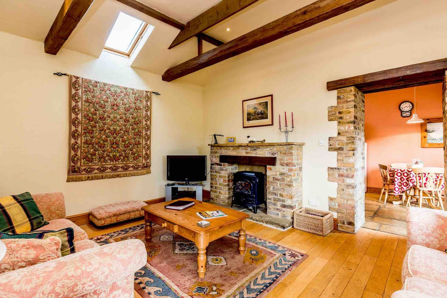 Guests often surprised by the spacious accommodation and soon settle in and feel at home