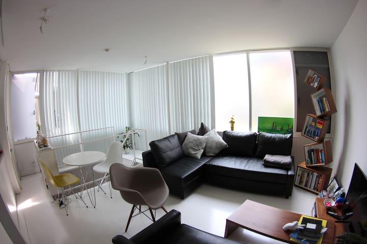 Stylish Nakameguro designer Loft - Meguro-ku - Apartment