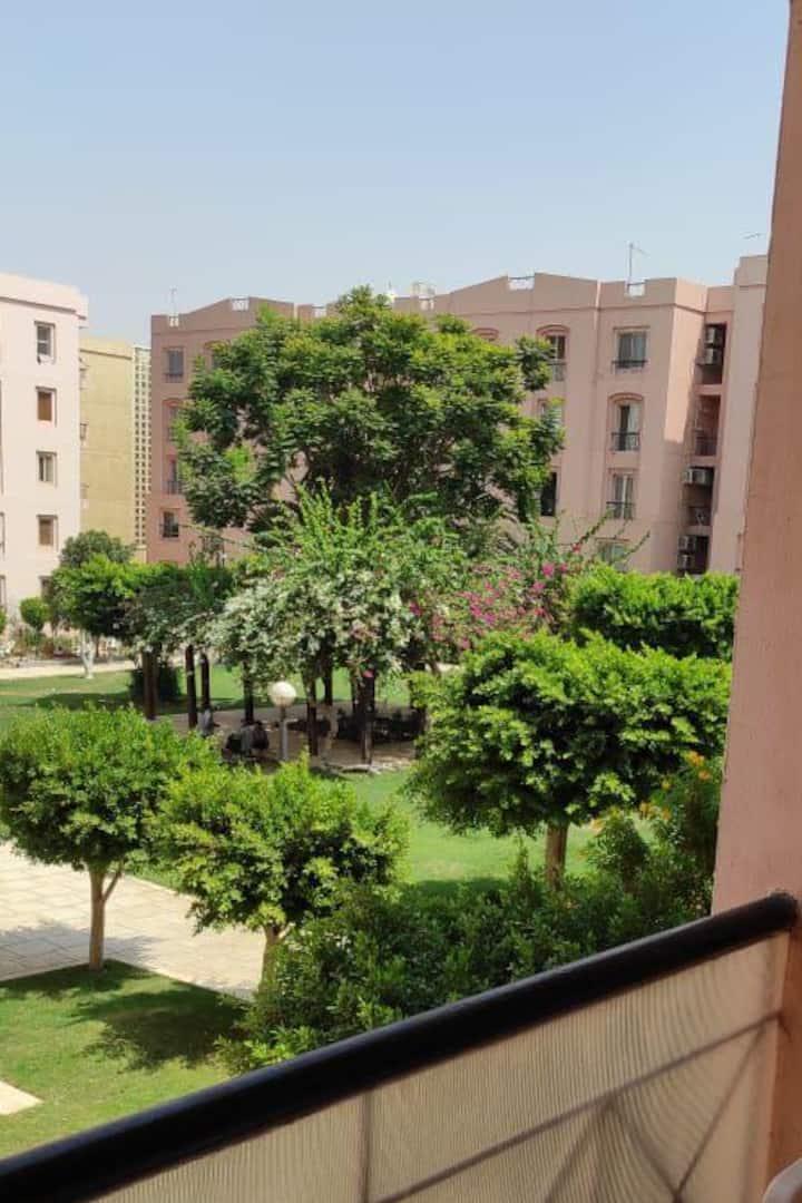 A furnished apartment - Al-Rehab city