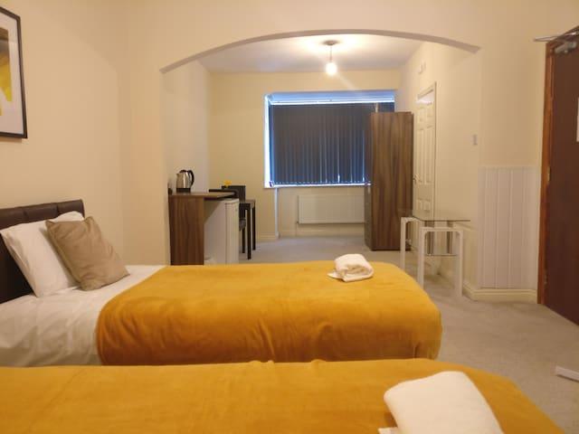 Comfortable Budget Ensuite Room 1