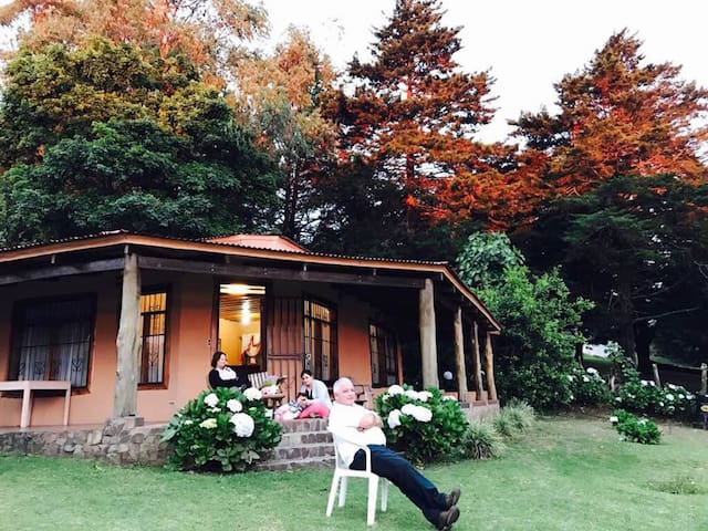 Casa de descanso en la montaña