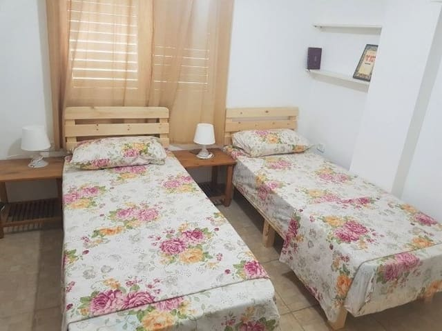 Twin bed room, welcome!