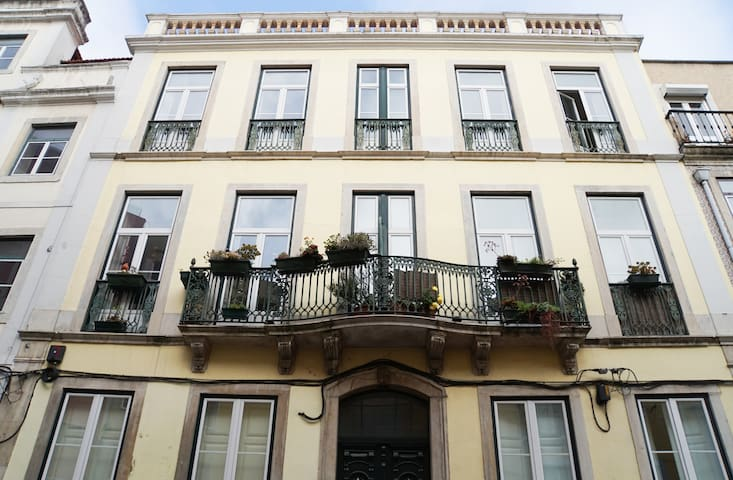 Cozy & Central apt w/ terrace. Lisbon downtown - Lisboa - Apartamento