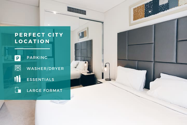 ✔✔✔ Bright Darling Harbour Designer 1Br Apt