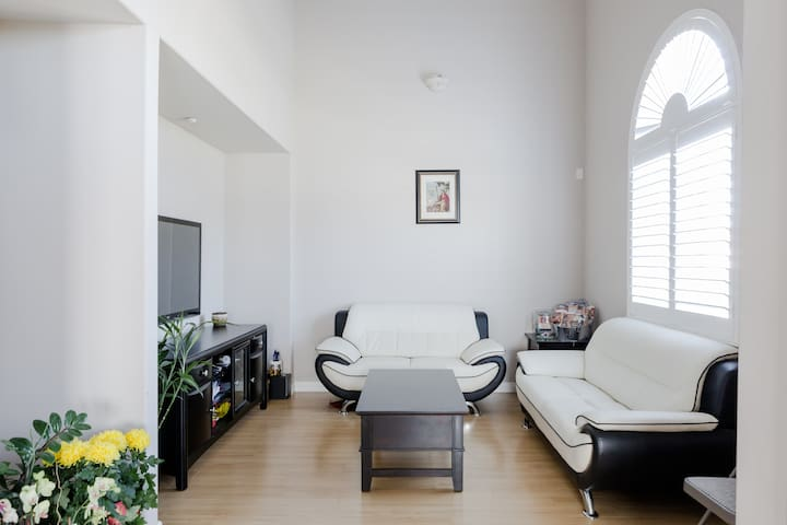 Share bath room Private Parking - El Monte - House