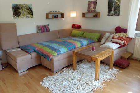 1 helles, ruhiges Zimmer, Bad- u. Küchenmitnutzung