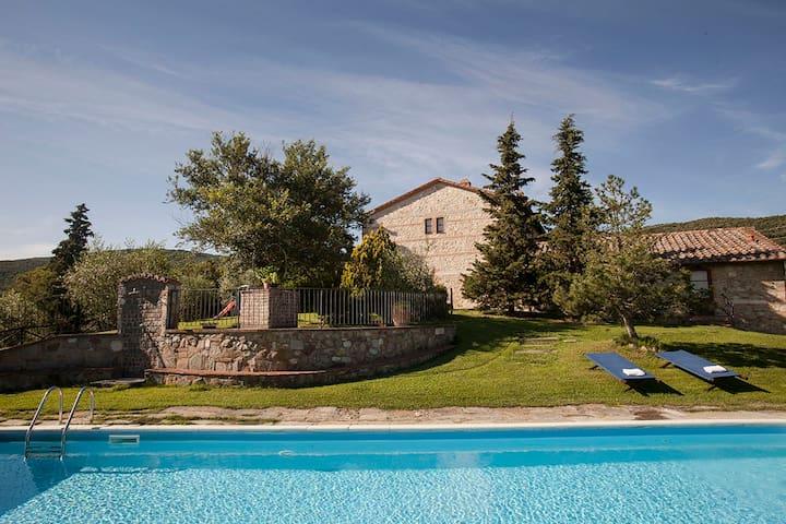 Ginestra un angolo di tranquillità in val d'Orcia - Chianciano Terme - Apartemen