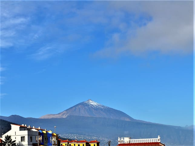 Amazing view on Ocean and Teide