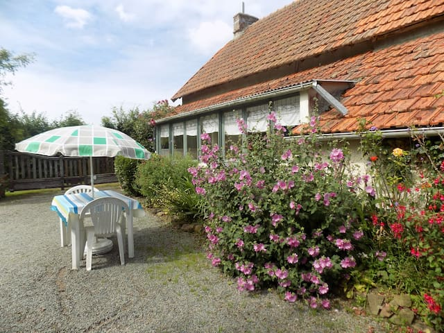 The Gites enclosed, private garden and parking