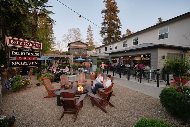"""A Room with a Brew"" - patio dining and craft beer"
