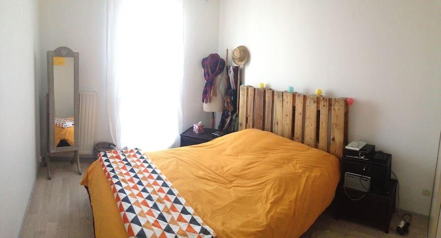 T2 spacieux complèt avec balcon - Lyon - Apartment