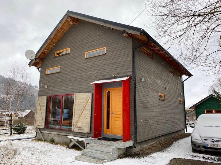 Ake Nordic House in Bucovina