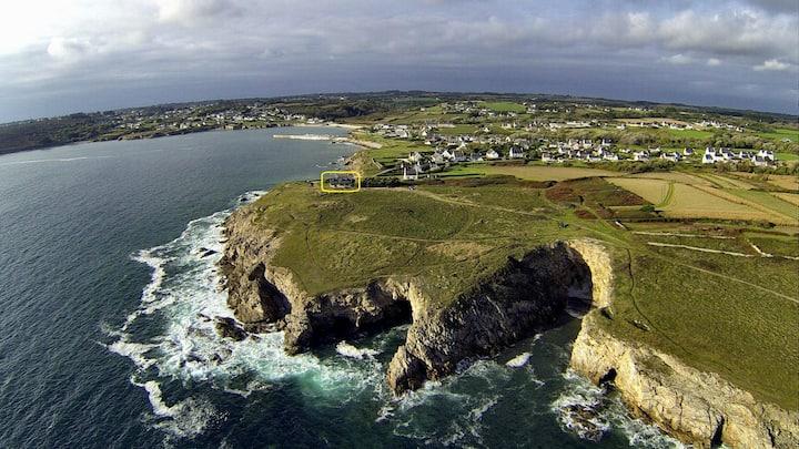 Maison bretonne (3 ***) - Vue sur mer