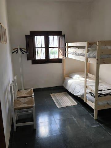 Habitación literas