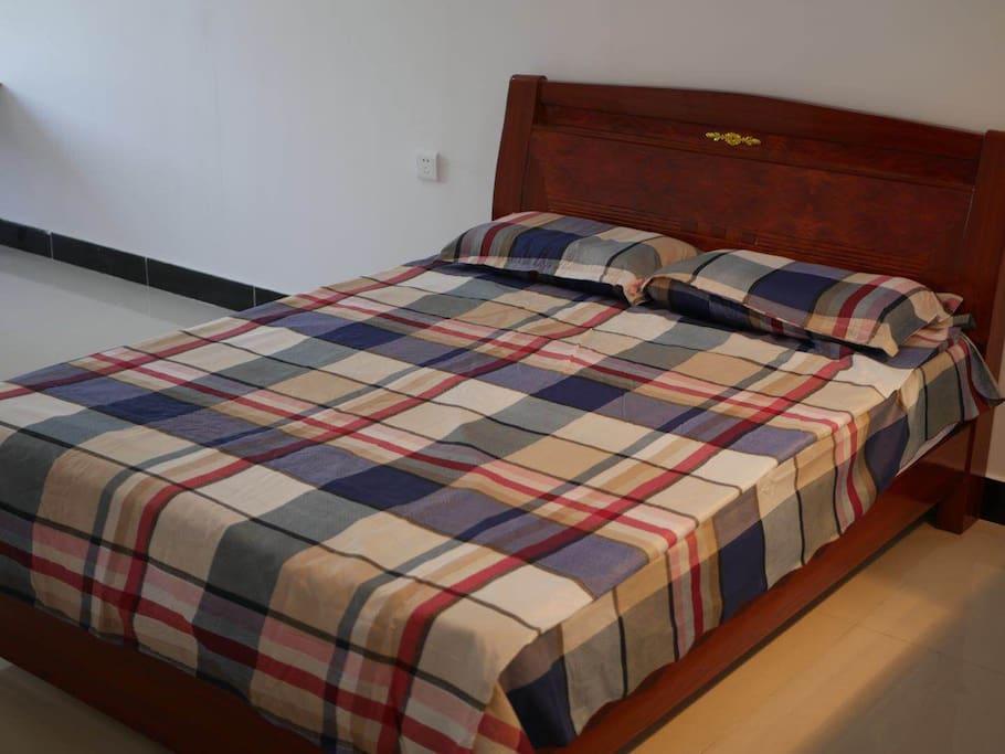 双人大床,舒适床垫