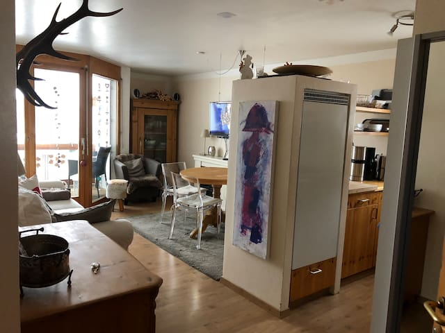 Cosy apartment near skiing area