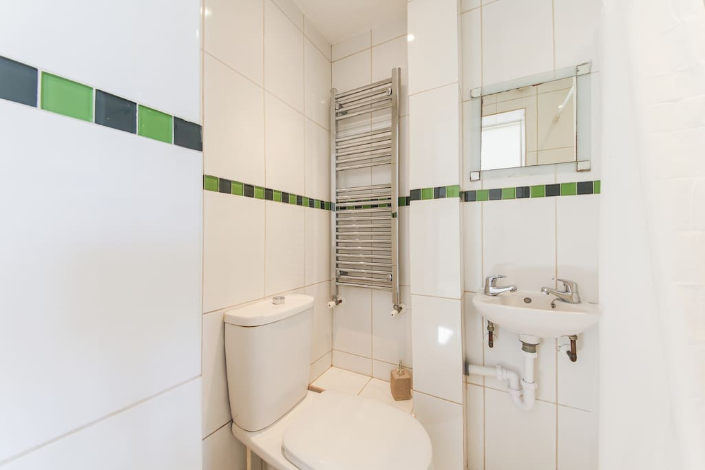 En-suite toilet and shower