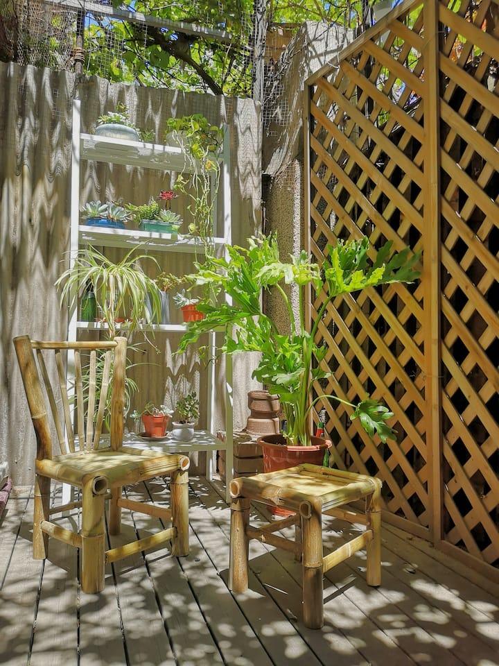 Artist Studio with Backyard: 798 / Lido / Wangjing