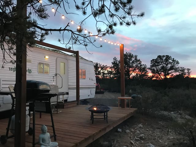 Prescott area, peaceful, star gazing RV.