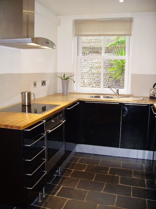 Modern well-equipped kitchen