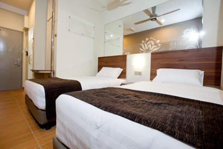 Tune Hotel Danga Bay, Johor - Twin Room