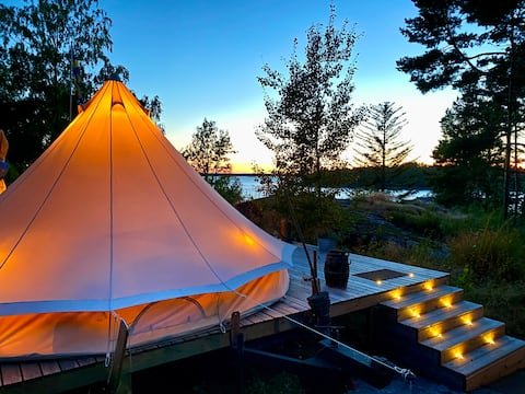 Sjöbergs Retreat Möja - Boutique Glamping Deluxe
