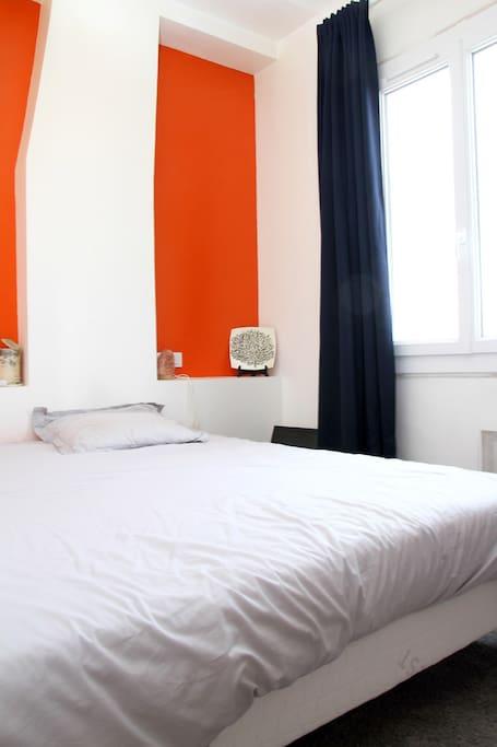 Appartement à 12min de la plage - La chambre