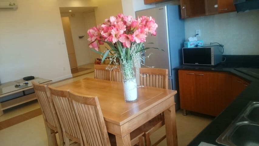 Three bedrooms, new and full-furnished Apartment - Hai Phong - Flat