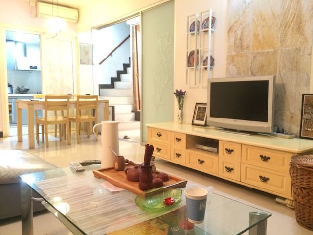 China style garden 1 bed room-metro - Guangzhou  - Çatı Katı
