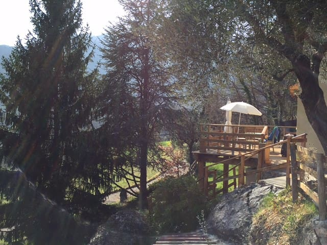 Maison hauteur roquebiliere - Ròcabilhiera - Casa