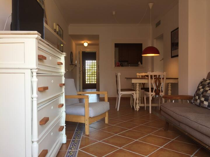 1-Bedroom apartment with hugh terrace