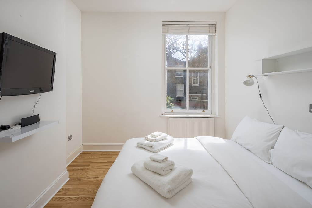 My stylish property has everything you need; a large double bedroom...