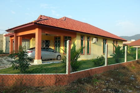 5 Rooms Bungalow Fully Furnished in Kerteh