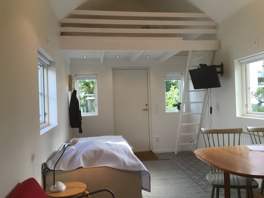 Room with the loft